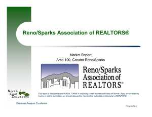 reno real estate stats
